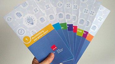 Flyer, Weiterbildung, Berufsbildung, Hochschulpolitik, Prüfungswesen, Bildungspolitik